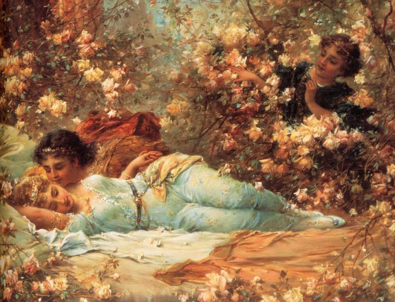 Zatzka, Hans - The Rose Bower (end. Hans Zatzka