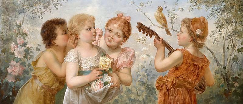 Roses for Musicians. Hans Zatzka