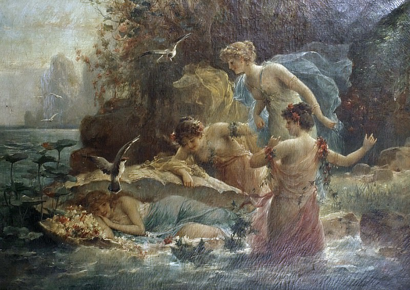 The Birth of Venus. Hans Zatzka