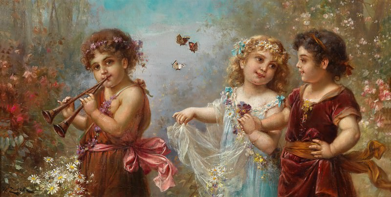 The Spring of Life. Hans Zatzka