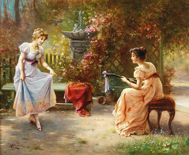 Musical Entertainment. Hans Zatzka