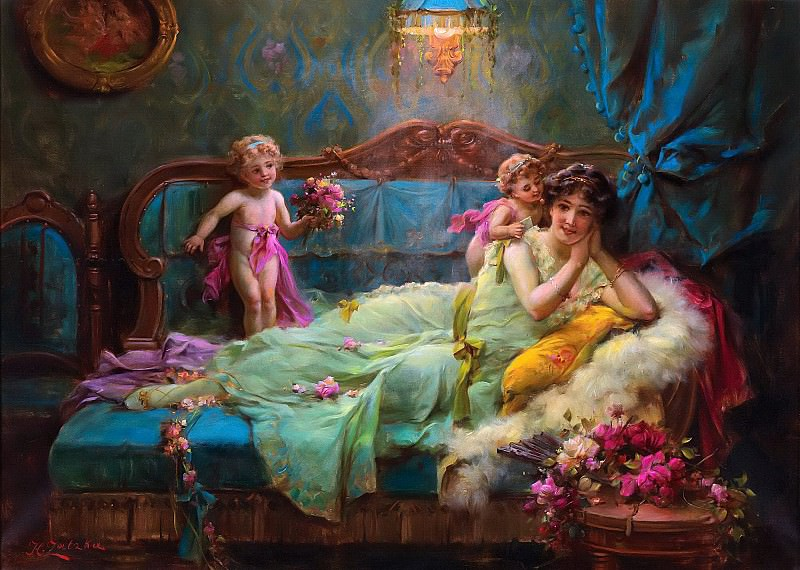 Messengers of Love. Hans Zatzka