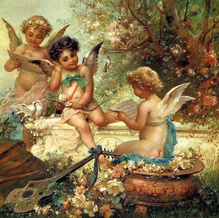 Cupid. Hans Zatzka