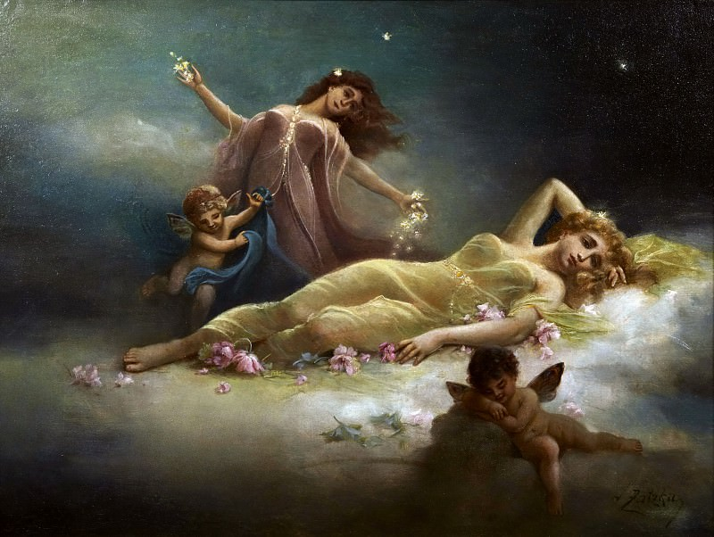 the dream. Hans Zatzka