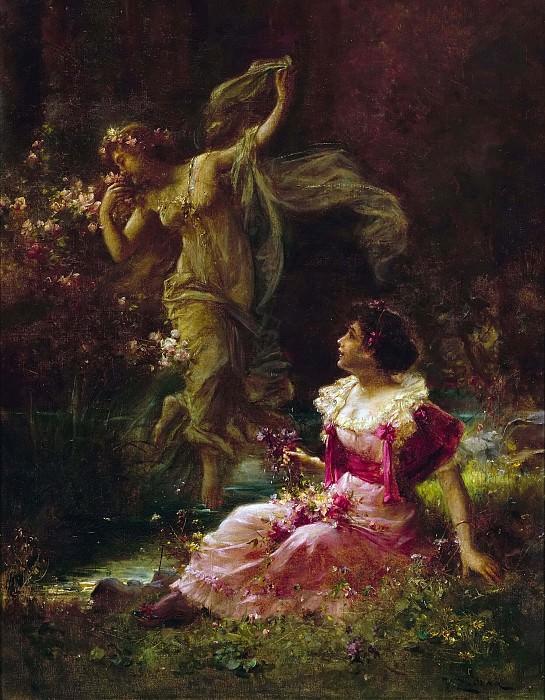The Daydream of Demeter. Hans Zatzka