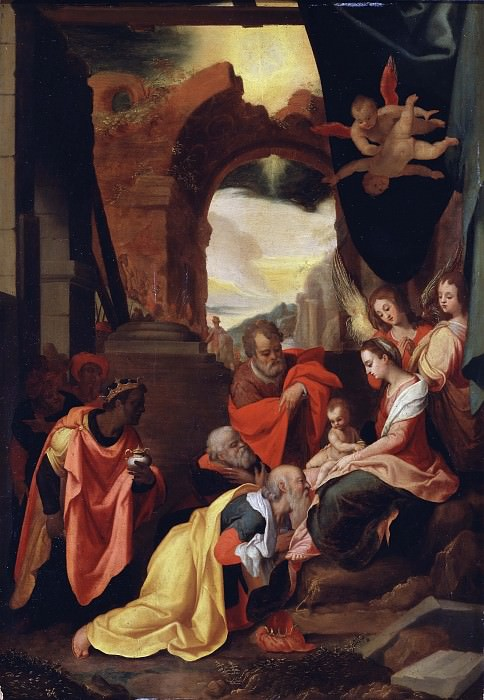 The Adoration of the Magi. Federico Zuccaro (After)