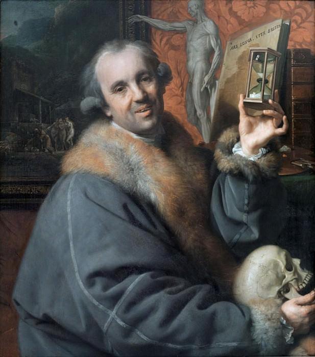 Self Portrait. Johann Zoffany