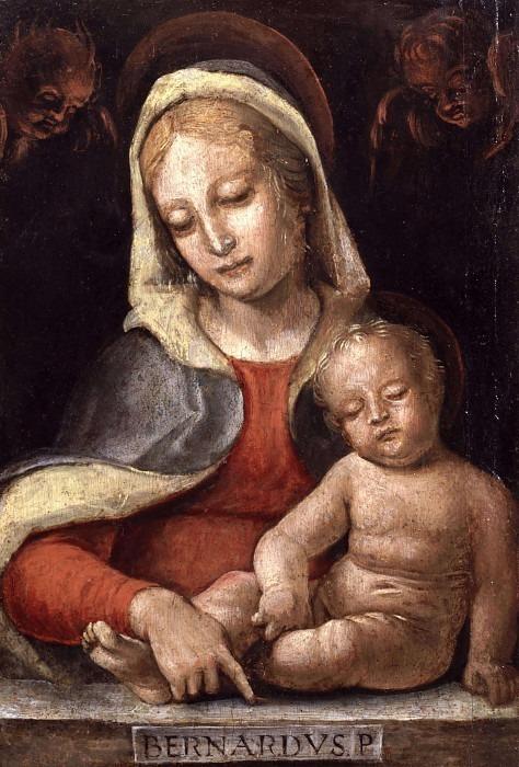 Мадонна с младенцем. Бернардо Дзенале