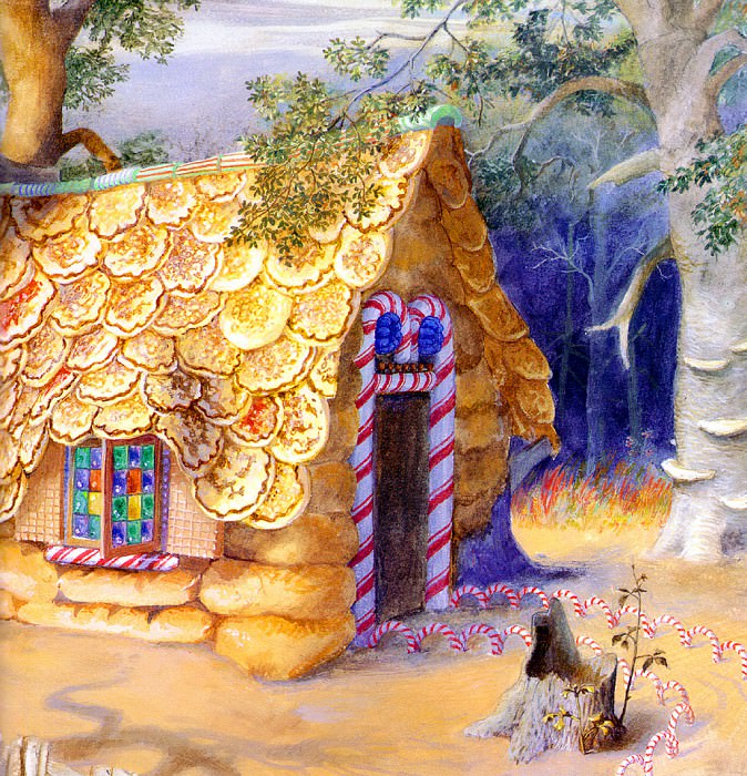 Hansel & Gretel 014 PaulOZelinsky sqs. Пол Зелинский