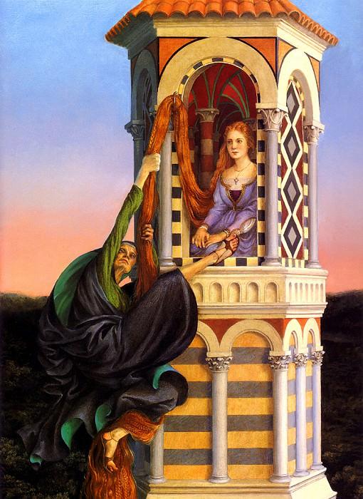 Rapunzel 13 PaulOZelinsky sqs. Пол Зелинский