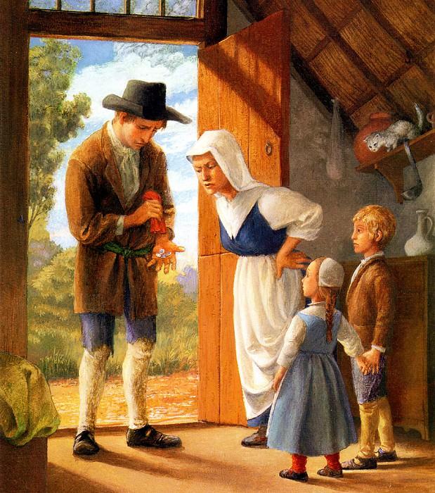 Hansel & Gretel 001 PaulOZelinsky sqs. Пол Зелинский
