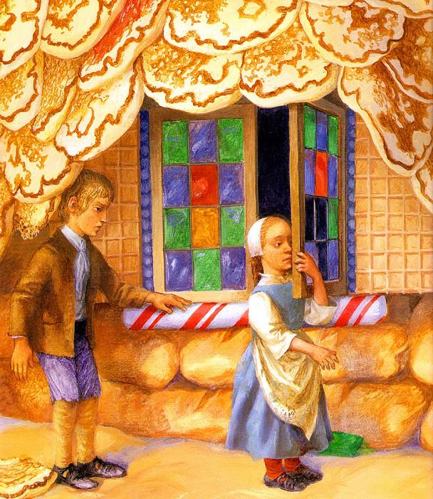 Hansel & Gretel 015 PaulOZelinsky sqs. Пол Зелинский