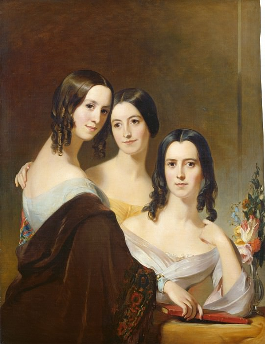 Thomas Sully - The Coleman Sisters. National Gallery of Art (Washington)