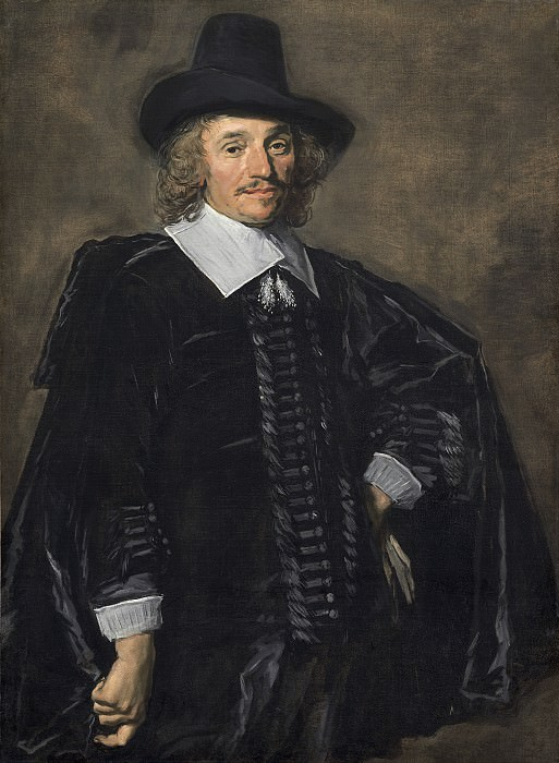 Frans Hals - Portrait of a Gentleman. National Gallery of Art (Washington)