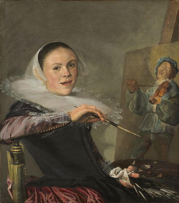 Лейстер, Юдит - Автопортрет. Национальная галерея искусств (Вашингтон)
