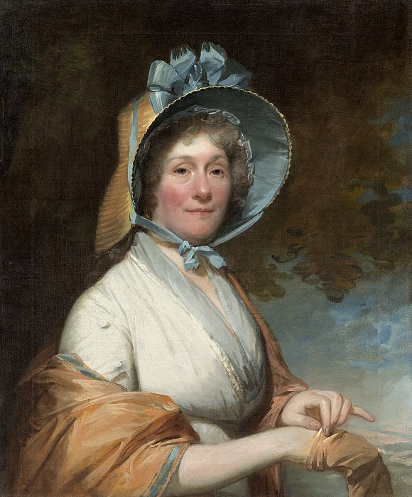 Gilbert Stuart - Henrietta Marchant Liston (Mrs. Robert Liston). National Gallery of Art (Washington)