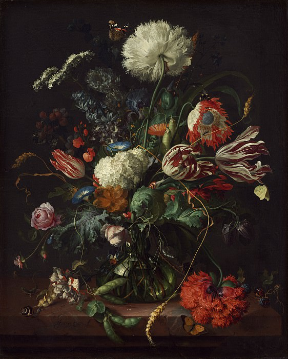 Jan Davidsz de Heem - Vase of Flowers. National Gallery of Art (Washington)