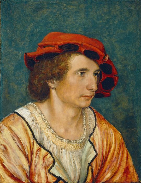 Гольбейн, Ганс II (Приписывается) - Портрет молодого человека. Национальная галерея искусств (Вашингтон)