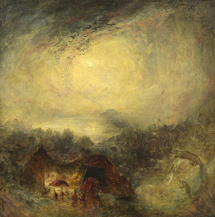 Joseph Mallord William Turner - The Evening of the Deluge. National Gallery of Art (Washington)