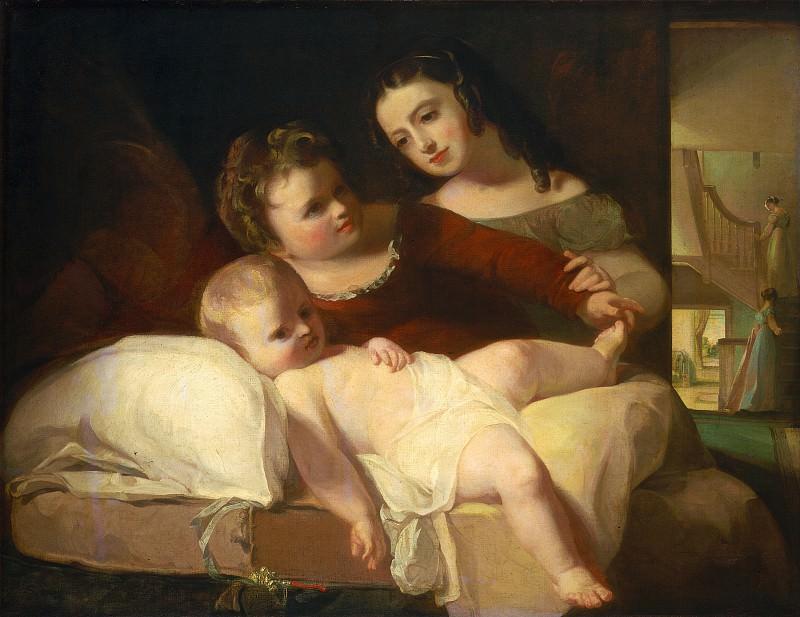Thomas Sully - The David Children. National Gallery of Art (Washington)