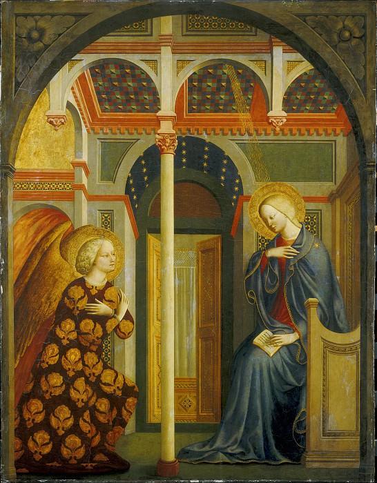Masolino da Panicale - The Annunciation. National Gallery of Art (Washington)