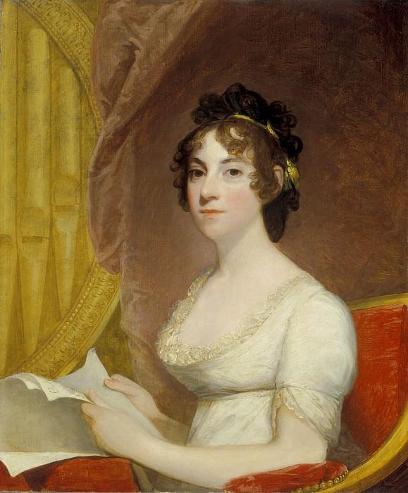 Стюарт, Гилберт - Анна-Мария Бродо Торнтон (супруга Уильяма Торнтона). Национальная галерея искусств (Вашингтон)