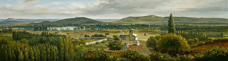 Theodore Rousseau - Panoramic View of the Ile-de-France. National Gallery of Art (Washington)