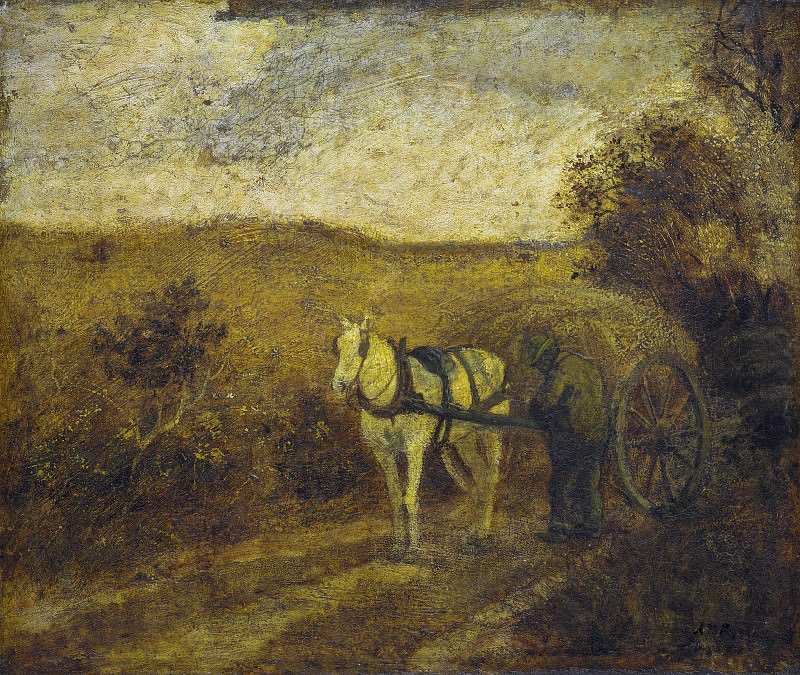 Albert Pinkham Ryder - Mending the Harness. National Gallery of Art (Washington)