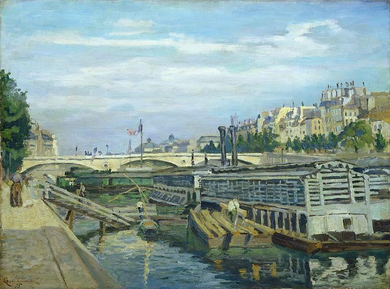 Jean-Baptiste-Armand Guillaumin - The Bridge of Louis Philippe. National Gallery of Art (Washington)