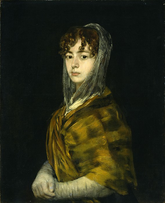 Francisco de Goya - Senora Sabasa Garcia. National Gallery of Art (Washington)