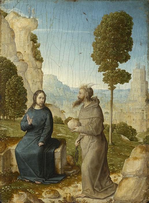 Хуан Фландрский - Искушение Христа. Национальная галерея искусств (Вашингтон)