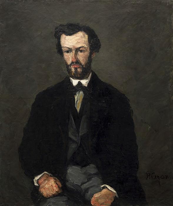 Paul Cezanne - Antony Valabregue. National Gallery of Art (Washington)