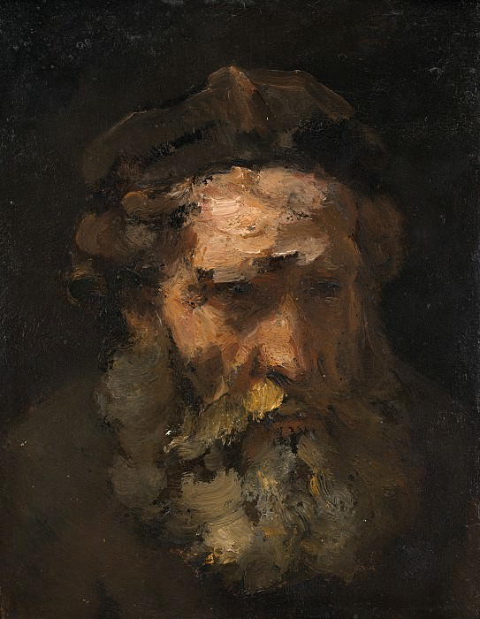 Follower of Rembrandt van Rijn - Head of Saint Matthew. National Gallery of Art (Washington)