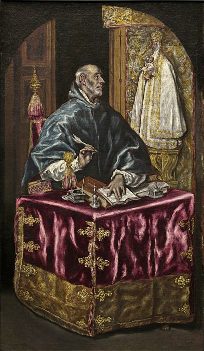 St. Ildefonso. El Greco