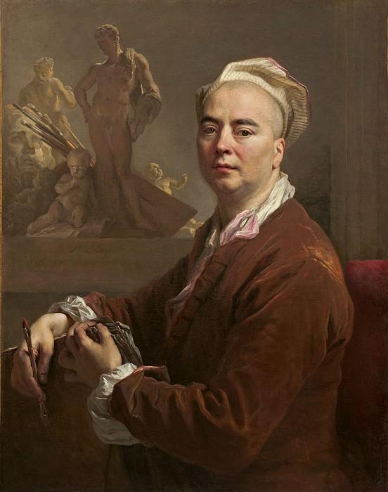 Nicolas de Largillierre - Self-Portrait. National Gallery of Art (Washington)