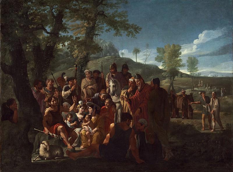 Willem Reuter - Saint John the Baptist Preaching. National Gallery of Art (Washington)