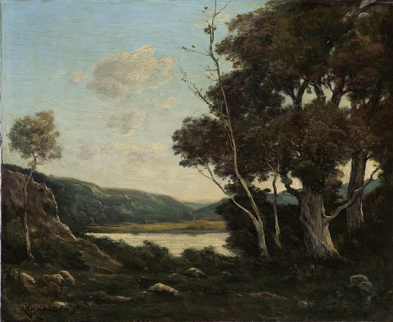Henri-Joseph Harpignies - Landscape. National Gallery of Art (Washington)