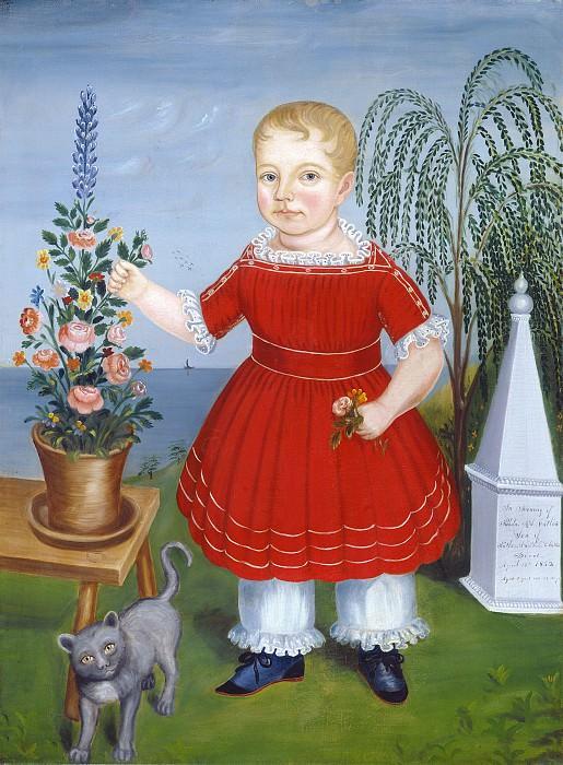Неизвестный американский художник 19 века - В память о Николасе М.С. Кэтлине. Национальная галерея искусств (Вашингтон)