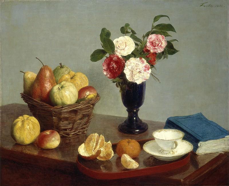 Фантен-Латур, Анри - Натюрморт. Национальная галерея искусств (Вашингтон)