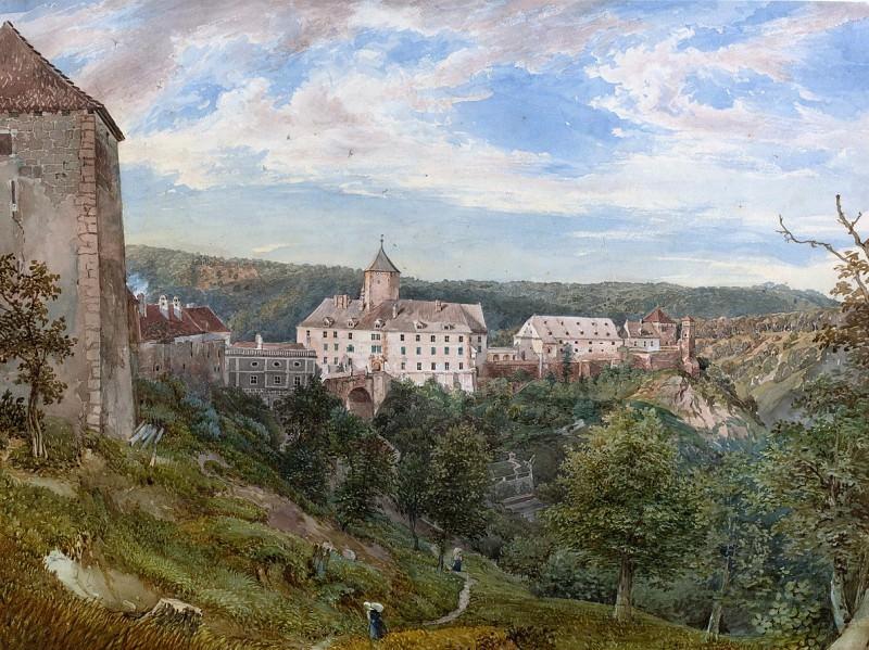 Josef Hoger - Eichhorn Castle at Evening. National Gallery of Art (Washington)