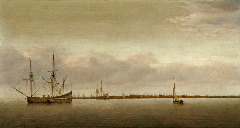 Abraham de Verwer - View of Hoorn. National Gallery of Art (Washington)