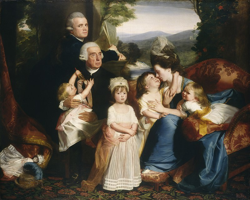 John Singleton Copley - The Copley Family. National Gallery of Art (Washington)
