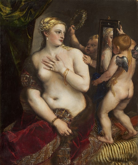 Titian - Venus with a Mirror. National Gallery of Art (Washington)