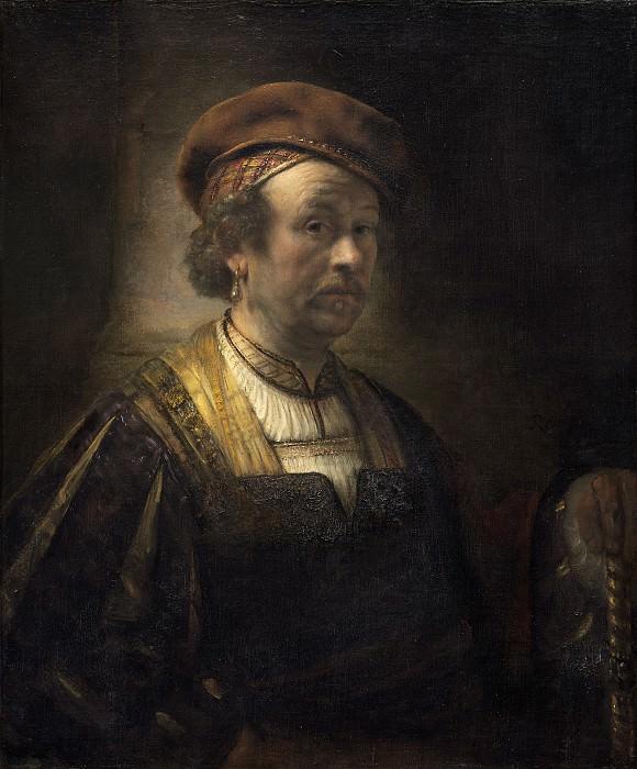Rembrandt Workshop - Portrait of Rembrandt. National Gallery of Art (Washington)