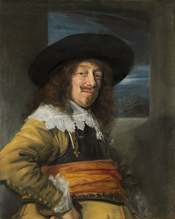 Frans Hals - Portrait of a Member of the Haarlem Civic Guard. National Gallery of Art (Washington)