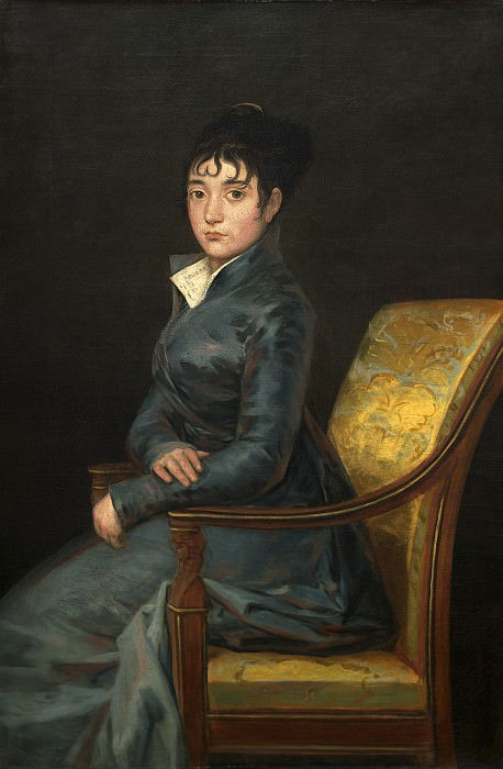 Francisco de Goya - Therese Louise de Sureda. National Gallery of Art (Washington)