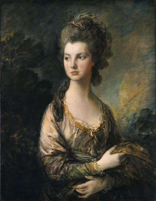 Гейнсборо, Томас - Г-жа Томас Грэм. Национальная галерея искусств (Вашингтон)