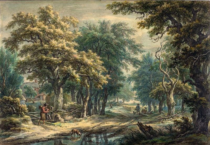 Egbert van Drielst - At Donderen, in the Woods of Drenthe. National Gallery of Art (Washington)
