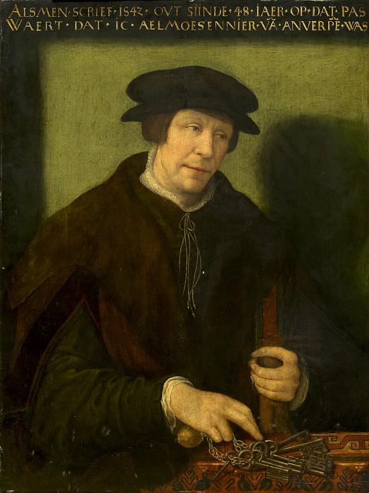 Antwerp 16th Century - Portrait of an Almoner of Antwerp. National Gallery of Art (Washington)
