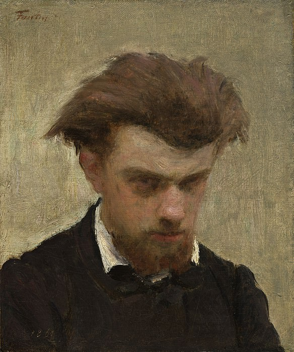 Henri Fantin-Latour - Self-Portrait. National Gallery of Art (Washington)